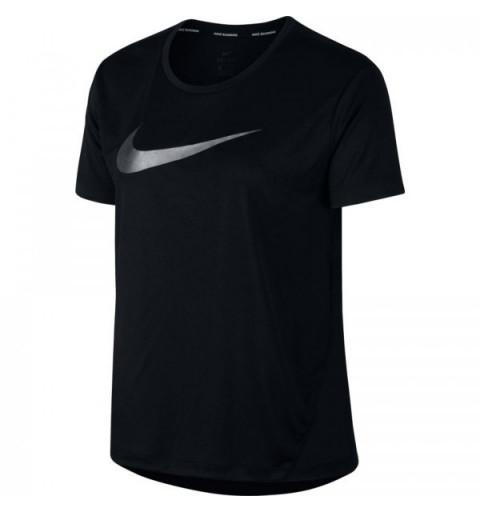 Camiseta Nike W Miler SS HBR1 Black