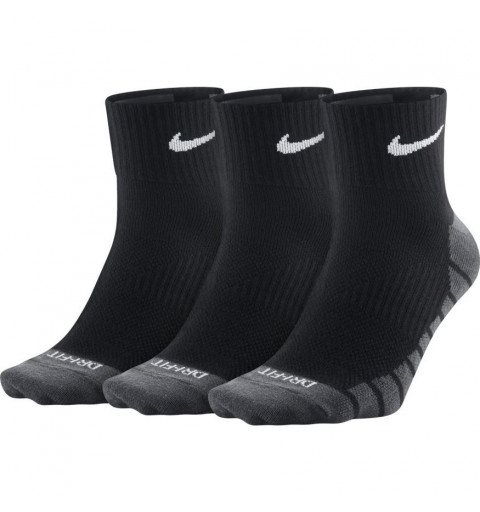 Calcetin Nike Dri-Fit Tobillo Black