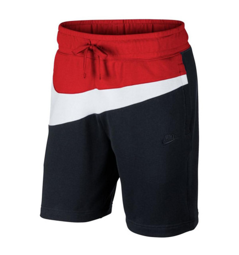 Bermuda Nike nSW hbr Ft Black-Red