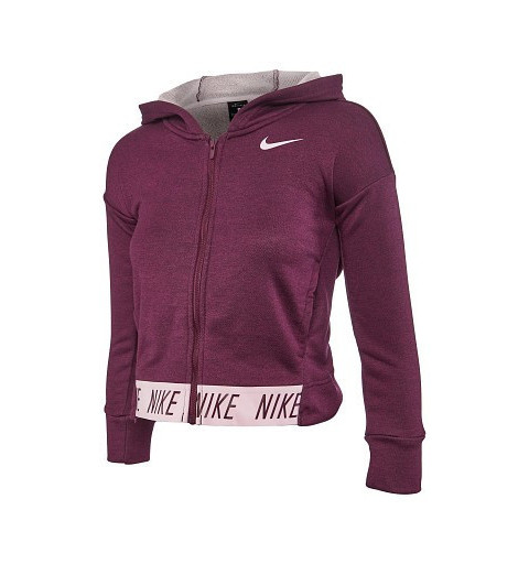 Sudadera Nike Girls Studio Hd Berenjena