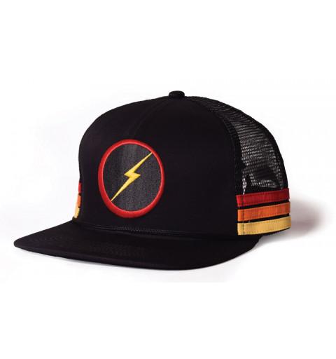 Gorra Bolt Sunset Stripe Hat Black