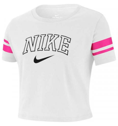 Camiseta Nike Girls Sportwear White