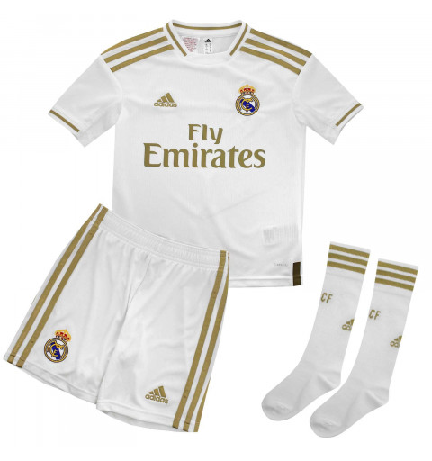 MiniKit Adidas Real Madrid Y 19-20 White