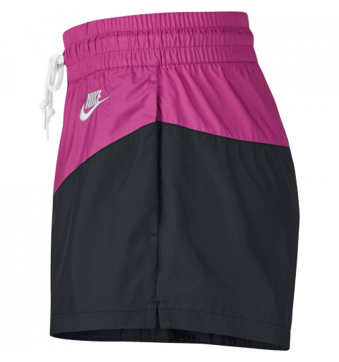 Short Nike W NSW HRTG WVN Black-Lila