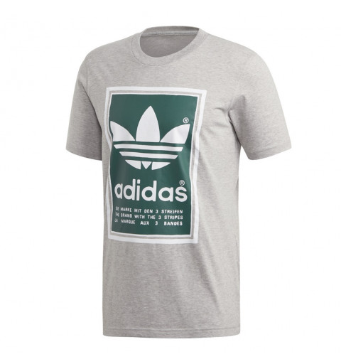 Camiseta Adidas Filled Label MGrey