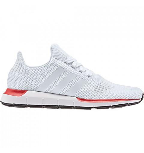 Adidas Swift Run White-Red