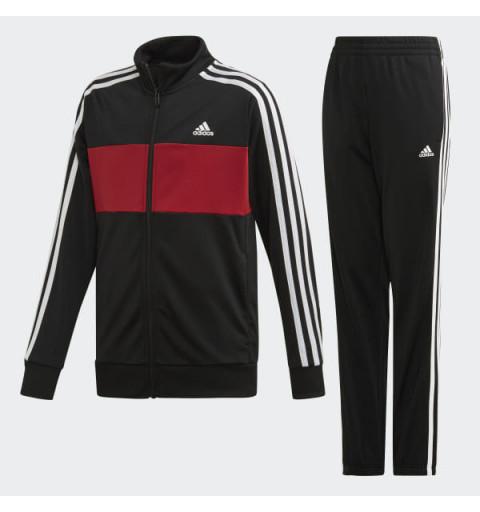 Chandal Adidas YB TS Tiberio Black-Actmar