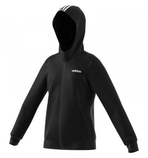 Sudadera Adidas YG C FZ Hood Black