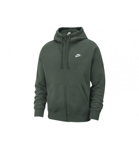 Sudadera Nike NSW Club Hoodie Fz Verde