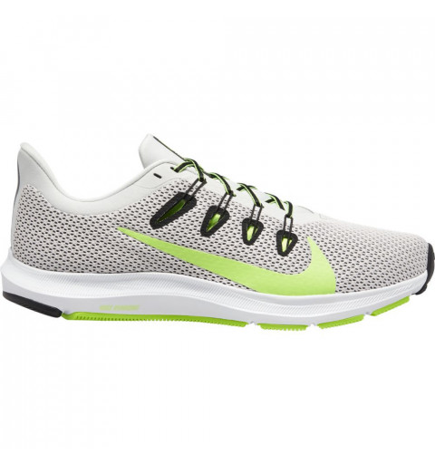 Nike Quest 2 Platinum/Green