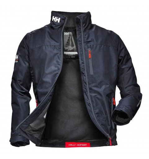 Jacket HH Crew Midlayer Navy