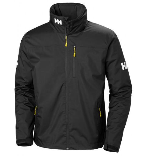 Jacket HH Crew Hooded Midlayer Black