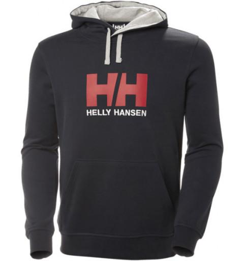 Sudadera HH Logo Hoodie Navy