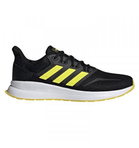 Adidas Runfalcon Black/Amarillo