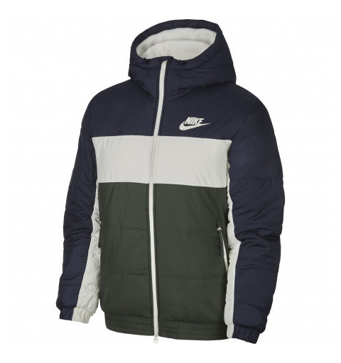 Chaqueta Nike Sportswear Marino-Verde