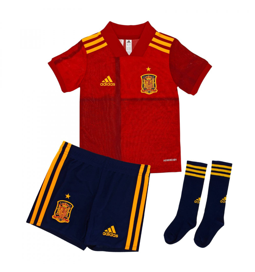 Miniconjunto Adidas España H Rojo