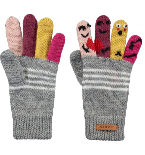 Guante Barts Puppet Gloves Gris