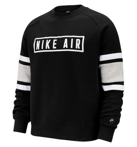 Sudadera Nike Nsw Air Crew Flc Negra