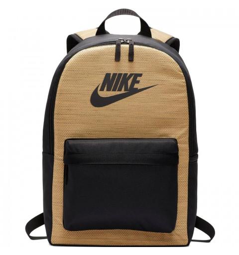 Mochila Nike Heritage Negra-Oro