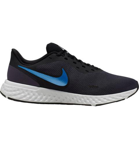 Nike Revolution 5 Gris/Blue