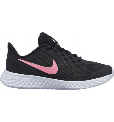 Nike Revolution 5 Negra/Rosa