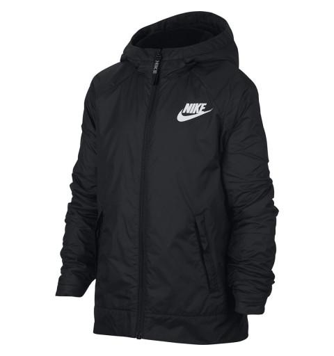Chaqueta Nike Boys Sportswear Negra
