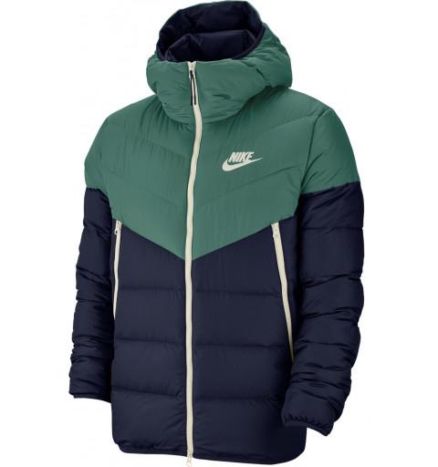 Cazadora Nike M Sportswear Down Fill Marino-Verde