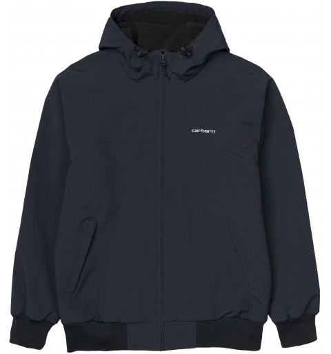 Jacket Carhartt Hooded Sail Black