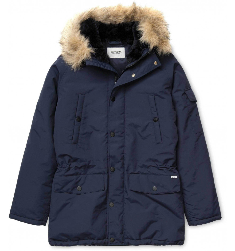 Parka Carhartt Anchorage Dark Navy IO00728 1C