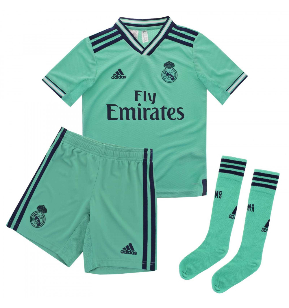 Conjunto Adidas Real Madrid 3ª 2019-2020