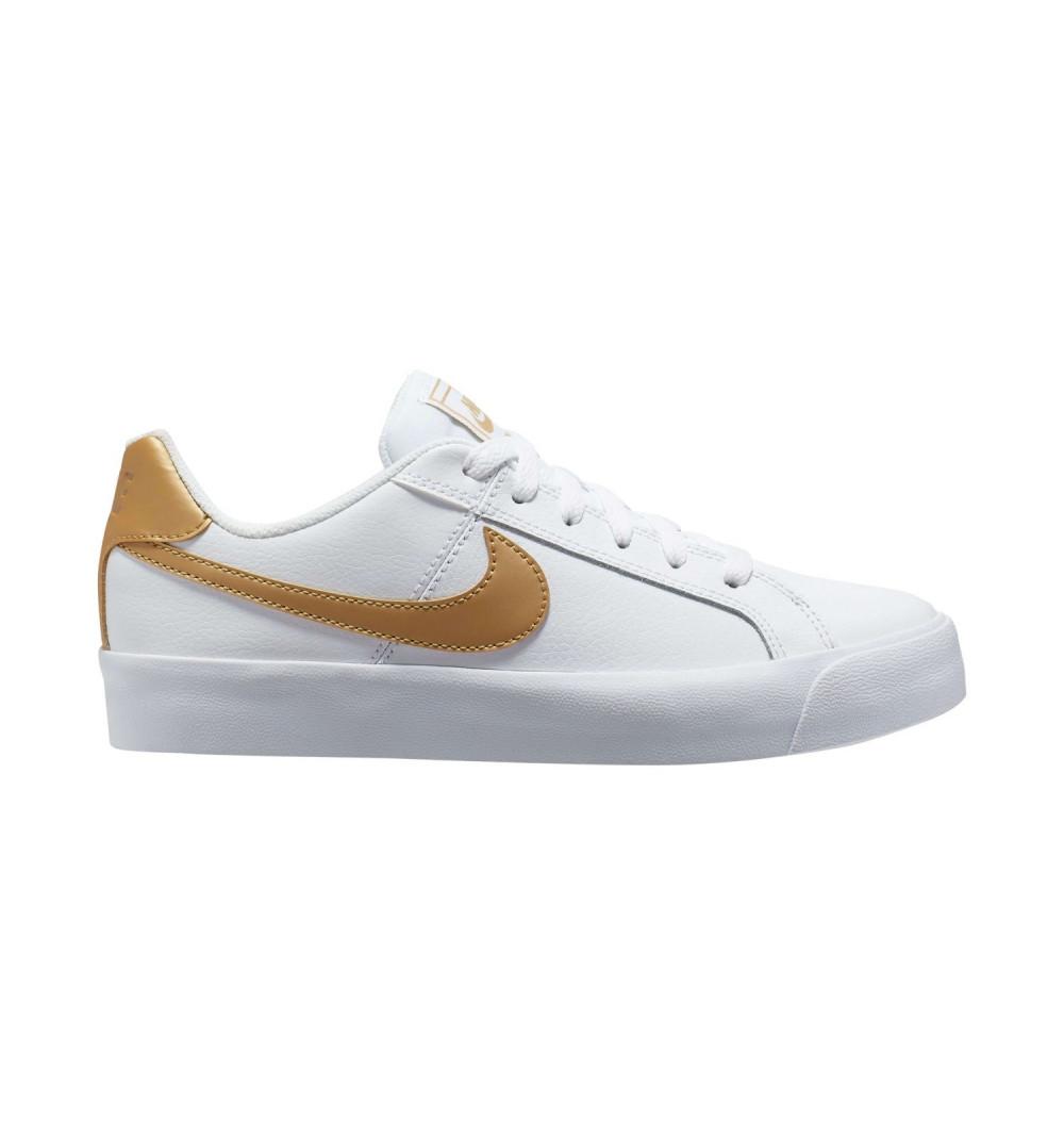 Nike Wmns Court Royale Ac Blanca-Oro