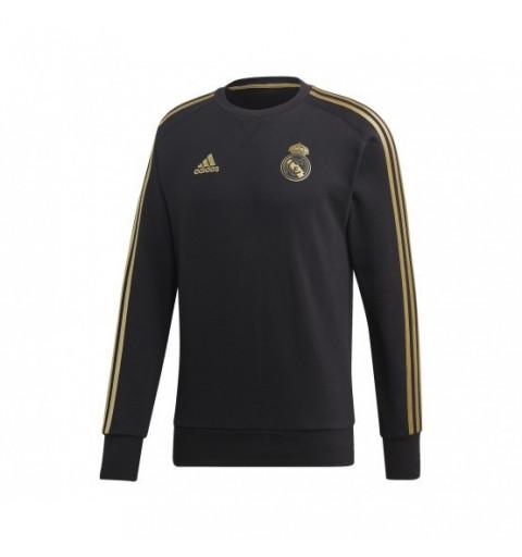 Sudadera Adidas Real Madrid Negra-Oro