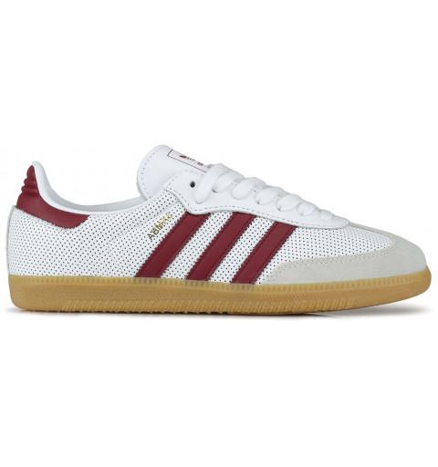 Adidas Samba OG White-Granate