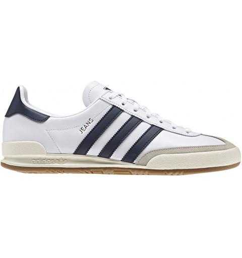Adidas Jeans White-Navy