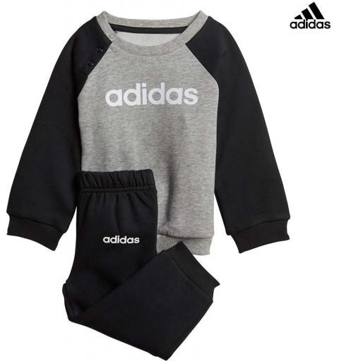 Chandal Adidas I Lin Jogg Fl Grey-Balck
