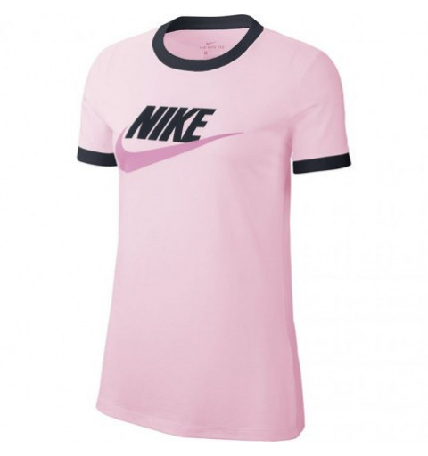 Camiseta Nike W Tee Futura Ringe Rosa