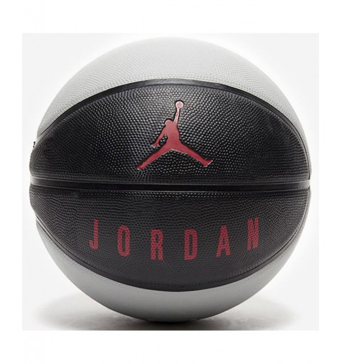 Balón Nike Basket Air Jordan Negro-Gris