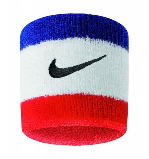 Muñequera Nike Swoosh Roja-Blanca-Azul
