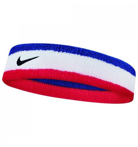 Cinta Pelo Nike Swoosh Blanca-Blue-Roja