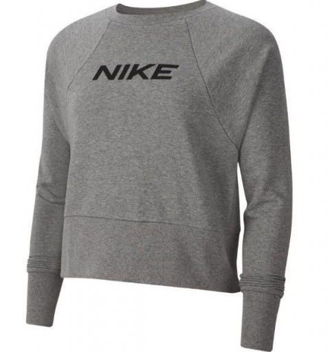 Sudadera Nike W Dry Get Fit FC Crew Gris