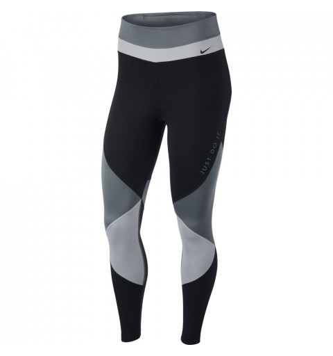 Leggins Nike W One Tight 7/8 Negra-Gris