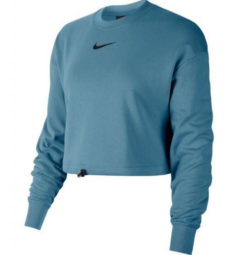 Sudadera Nike W Swoosh Crew Turquesa