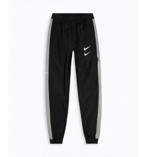 Pantalón Nike Sportswear Swoosh Negro