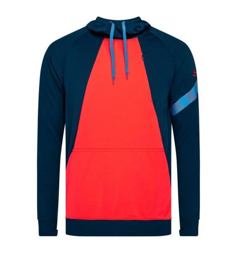 Sudadera Nike Academy Dri-Fit Blue-Naranja