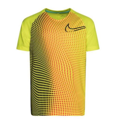 Camiseta Nike Niño CR7 Dri-Fit Amarilla
