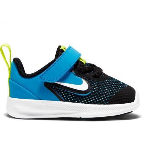 Nike Downshifter 9 TDV Negra-Azul