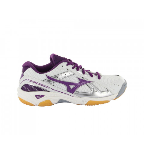 Mizuno Wave Twister2 Volleyball Blanca-Lila