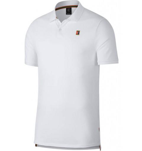 Polo Nike NKCT Heritage White