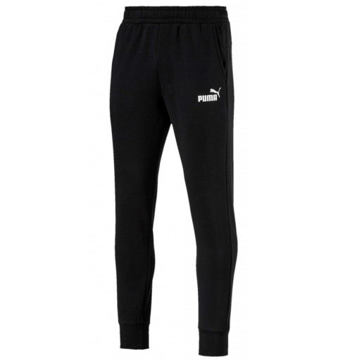 Pantalón Puma Ess+Slim Fl cotton Black