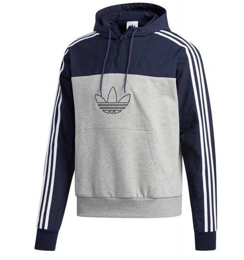 Sudadera Adidas Mixed Hoody Grey-Legink
